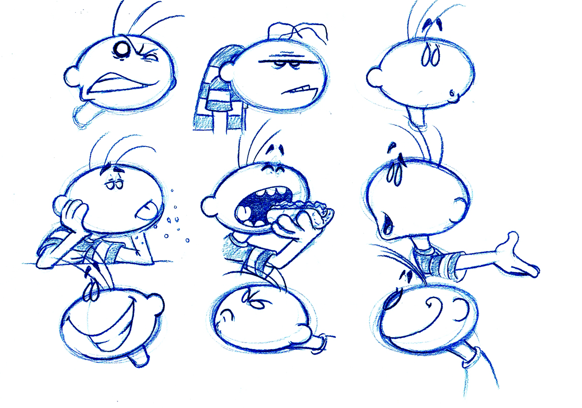 Character Design Expression : Hansel grethel character designs